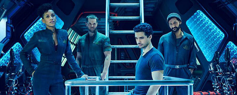 The crew of the Canterbury, from The Expanse
