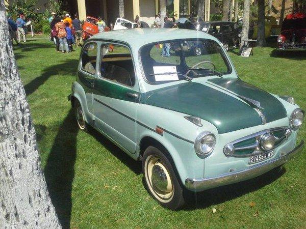 1956 Fiat 600 Elaborata